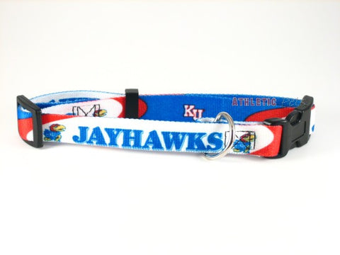 Kansas Jayhawks Dog Collar 2 (Discontinued)