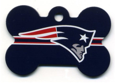 New England Patriots Dog ID Tag
