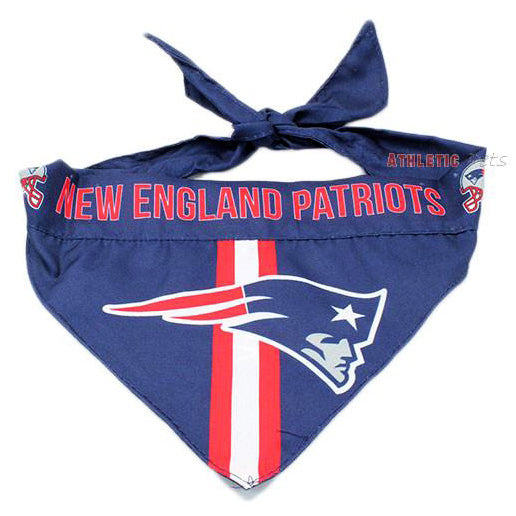 huge selection of 81315 a82f2 New England Patriots Dog Bandana