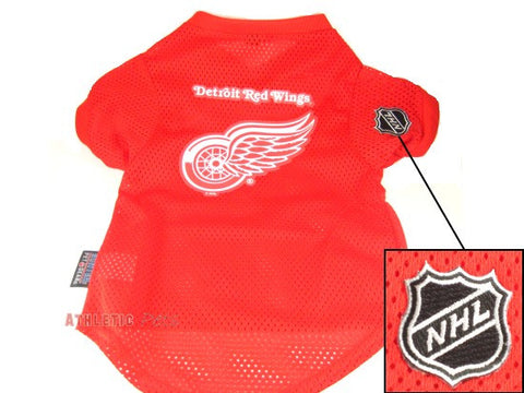 Detroit Red Wings Dog Jersey (Discontinued)