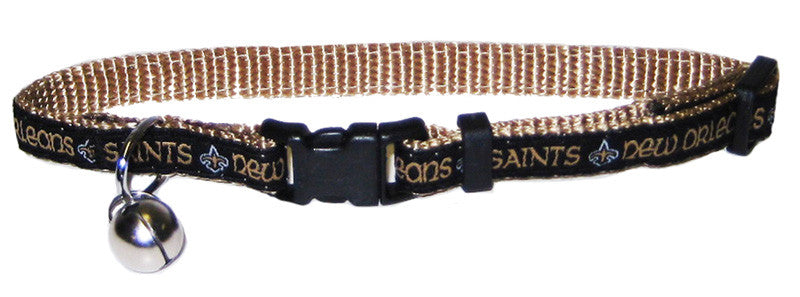 New Orleans Saints Cat Collar