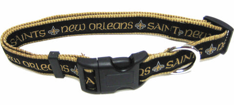 New Orleans Saints Dog Collar