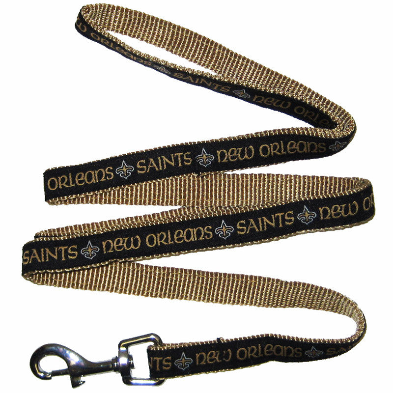 New Orleans Saints Dog Leash