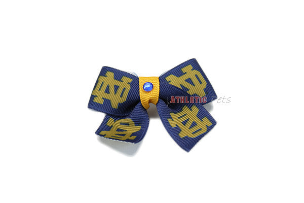 Notre Dame Fighting Irish Dog Hair Bow