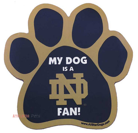 Notre Dame Fighting Irish Car Magnet