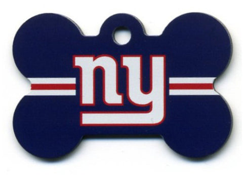 New York Giants Dog ID Tag