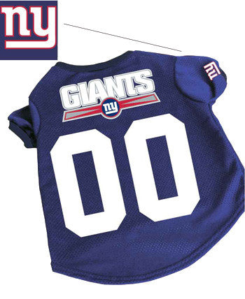 New York Giants Dog Jersey (Discontinued)