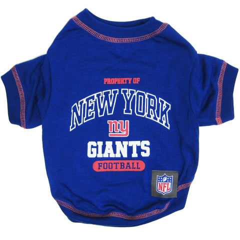 New York Giants Dog T-Shirt