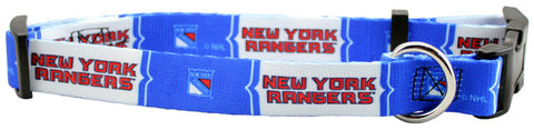 New York Rangers Dog Collar (Discontinued)