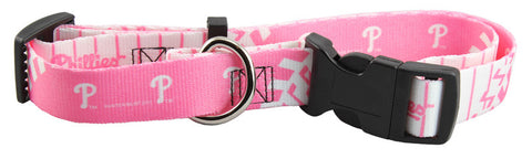 Philadelphia Phillies Pink Dog Collar (Discontinued)