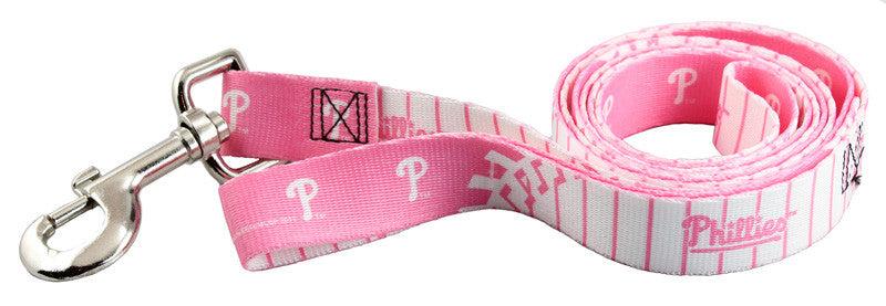Philadelphia Phillies Pink Dog Leash (Discontinued)