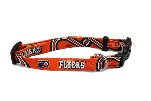 Philadelphia Flyers Dog Collar (Discontinued) – Athletic Pets 002e0d345