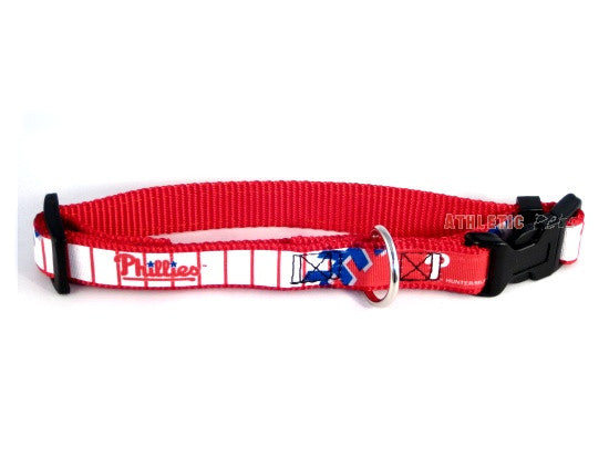 Philadelphia Phillies Premium Dog Collar (Discontinued)