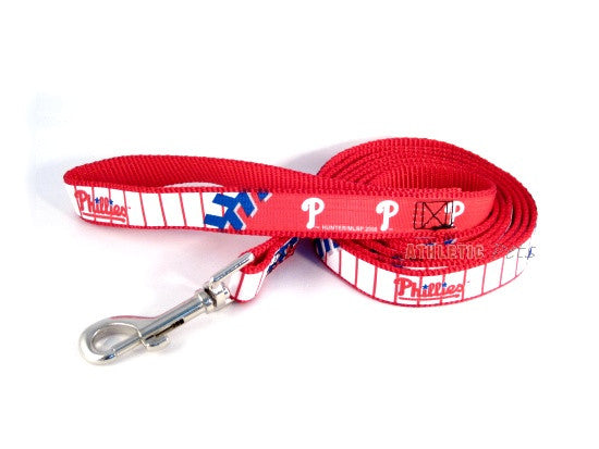 Philadelphia Phillies Premium Dog Leash (Discontinued)