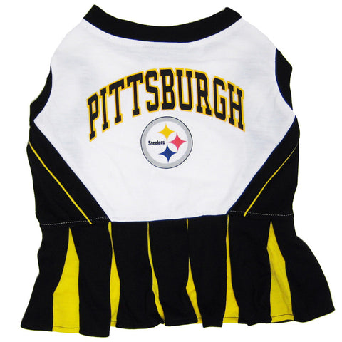Pittsburgh Steelers Dog Cheerleader Uniform