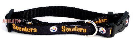 Pittsburgh Steelers Premium Dog Collar (Discontinued)