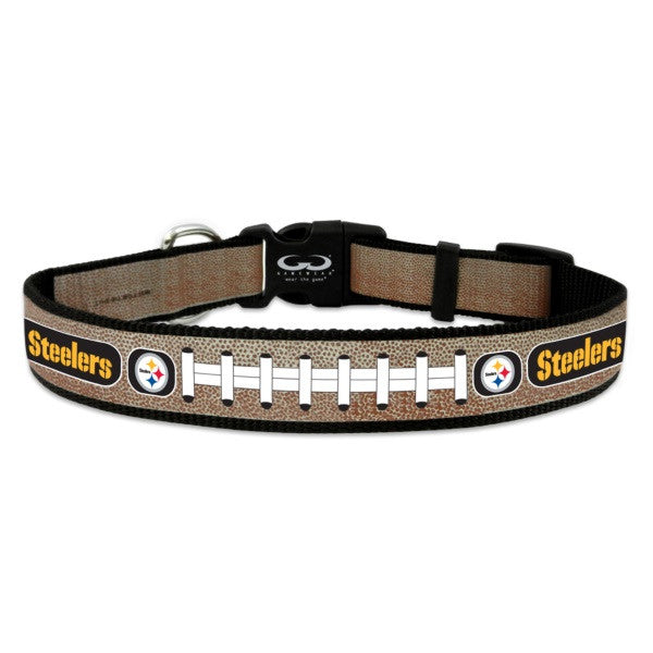 Pittsburgh Steelers Reflective Dog Collar