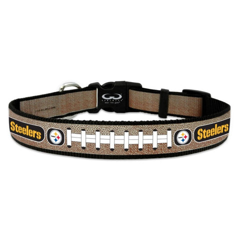 Pittsburgh Steelers Reflective Dog Collar 6ce61d5bf