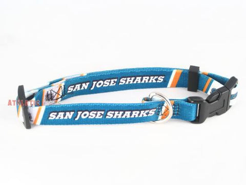 San Jose Sharks Dog Collar (Discontinued)