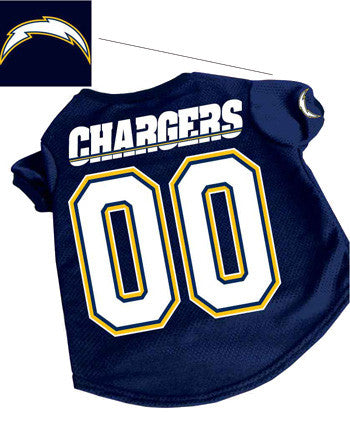 San Diego Chargers Dog Jersey (Discontinued)