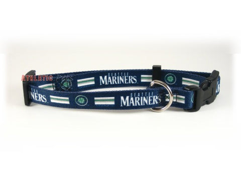 Seattle Mariners Dog Collar (Discontinued)