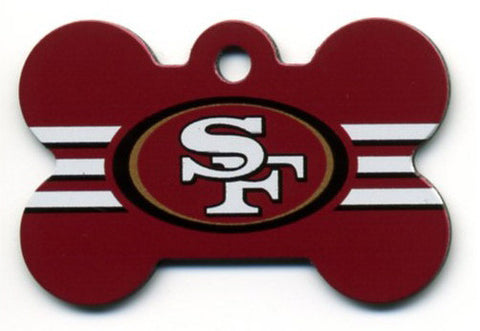 San Francisco 49ers Dog ID Tag