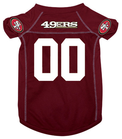 San Francisco 49ers Dog Jersey (Discontinued)