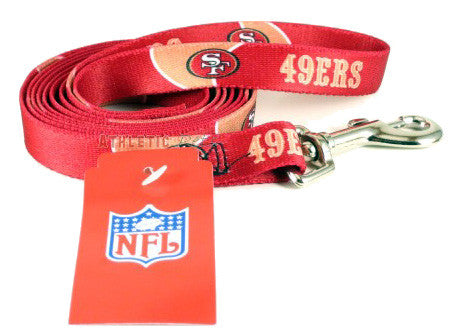 San Francisco 49ers Dog Leash 2 (Discontinued)