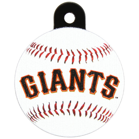 San Francisco Giants Round Baseball Dog ID Tag
