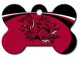 South Carolina Gamecocks Dog ID Tag