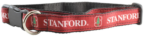 Stanford University Cardinal Premium Dog Collar