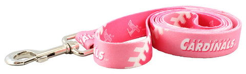 St. Louis Cardinals Pink Dog Leash (Discontinued)