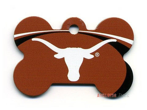 Texas Longhorns Dog ID Tag