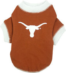 Texas Longhorns Dog T-Shirt