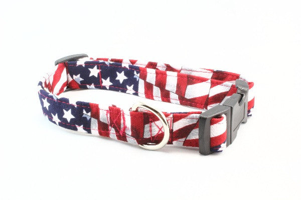 USA Flag - Liberty Dog Collar