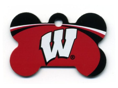 Wisconsin Badgers Dog ID Tag