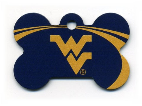 West Virginia Mountaineers Dog ID Tag