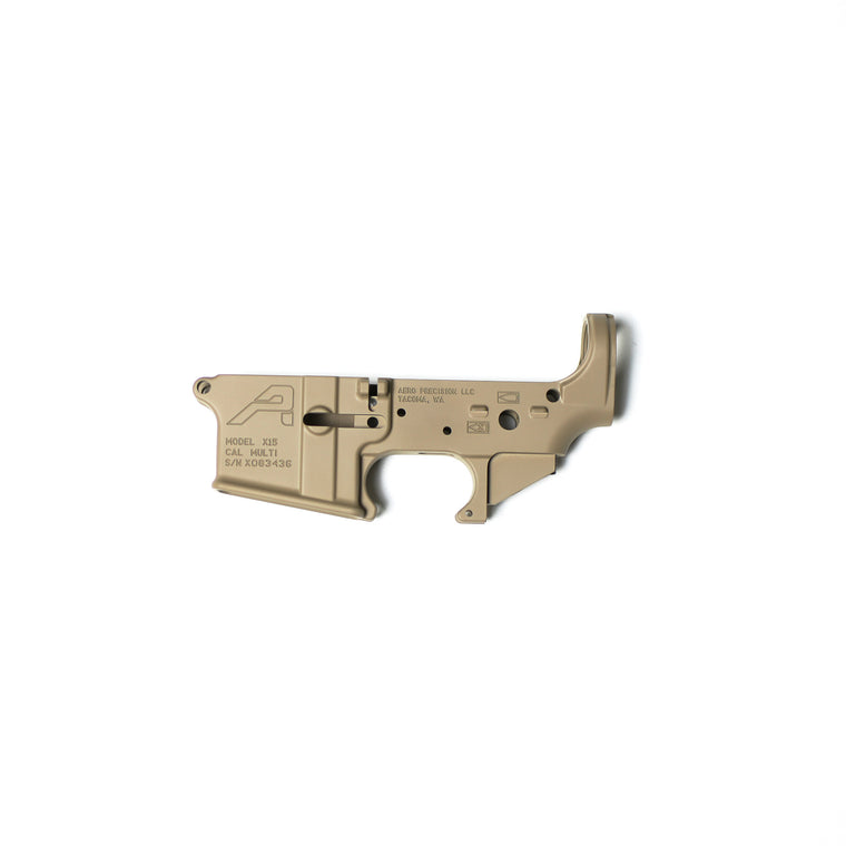 Aero Precision Stripped Receiver FDE 5.56