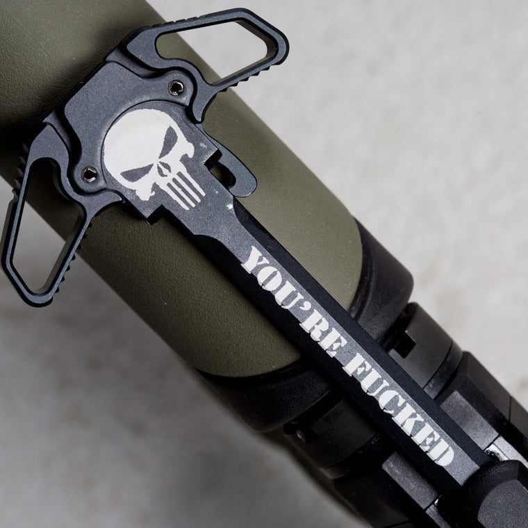 You're Fucked Charging Handle
