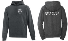 Veritac Global Gryphon/Caduceus Roundel Fleece Hoody, Unisex