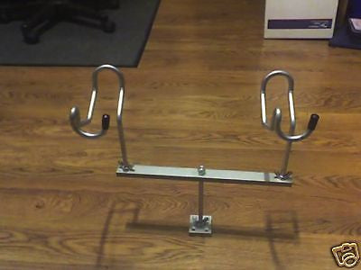 12 inch T-bars With 2 holders Un-Coated Look Out Crappie Reel Fisherman