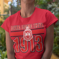 Delta Sigma Theta Homage T-Shirt - historically black apparel, hbcu,greek,black college,black athletes,black history,divine nine