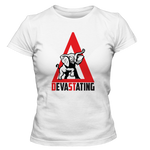 Delta Sigma Theta Devastating T-Shirt - Letters Greek Apparel - Black Greek Paraphernalia - Divine Nine Greek Apparel