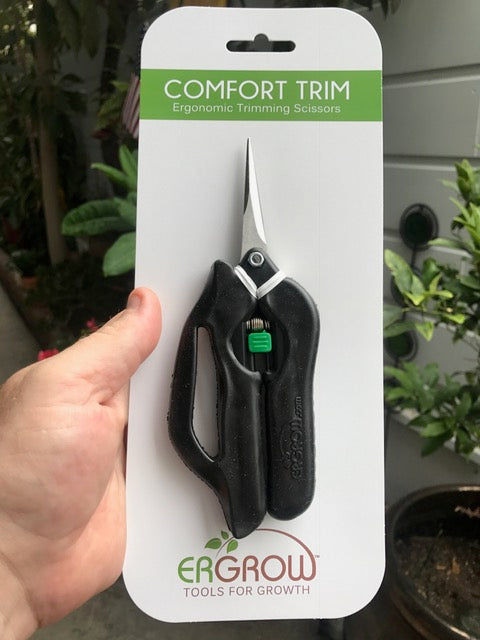 Comfort Trim Scissors - With Elastic Bow Grip