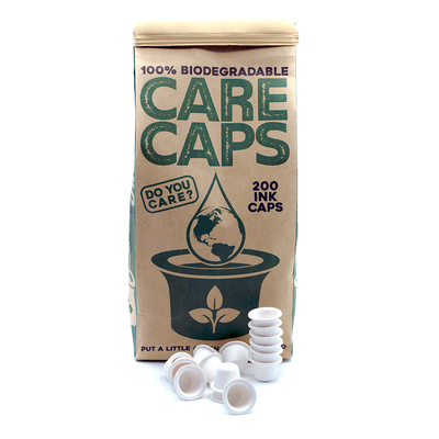 Care Caps: Biodegradable Ink that's a Game Changer