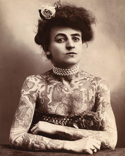 Tattoo Trends Throughout History