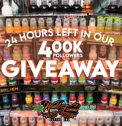 Our 400K Giveaway - The Final Day is Here!