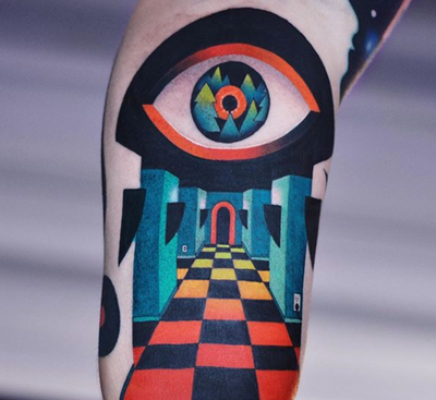 Psychedelic Tattoos - The Newest Craze