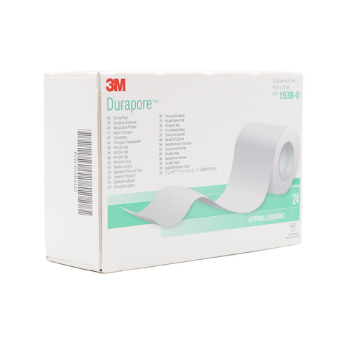 3M Durapore (Cloth) Surgical Tape – 1/2""