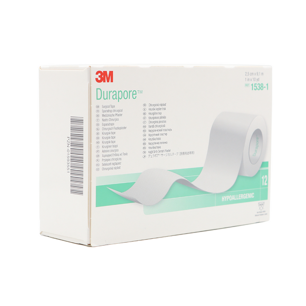 3M Durapore (Cloth) Surgical Tape – 1""